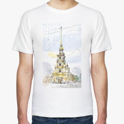 Футболка Петропавловская крепость