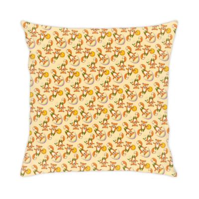 Подушка Лисички-непоседы