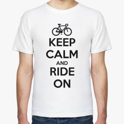 Футболка Keep Calm and Ride on