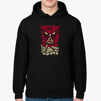 Толстовка худи Сова (Owl) - всевидящее око