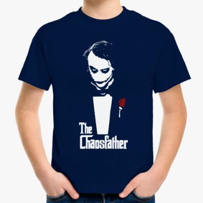 Детская футболка Отец хаоса