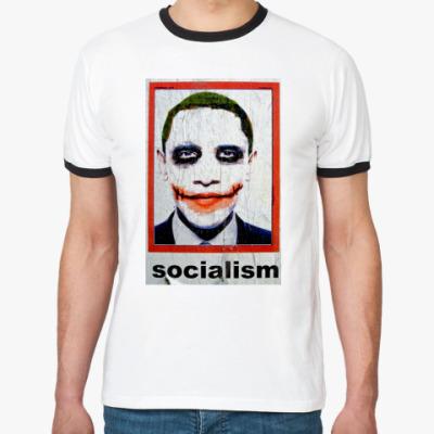 Футболка Ringer-T   Socialism
