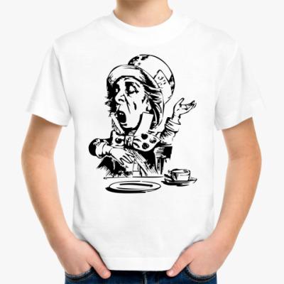 Детская футболка Сумасшедший Шляпник