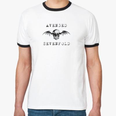 Футболка Ringer-T Avenged Sevenfold
