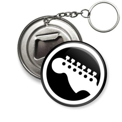 "Брелок-открывашка  ""Гитара"""