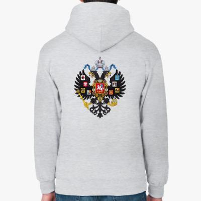 Толстовка худи Герб Российской империи 1883