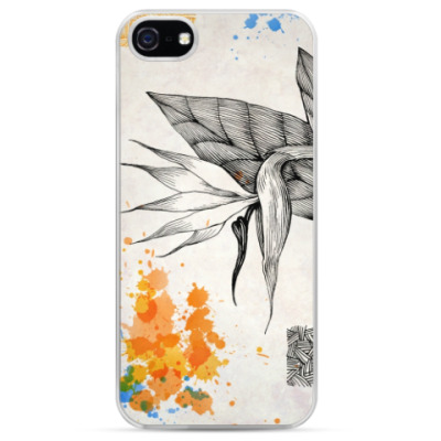 Чехол для iPhone Цветок стрелиции