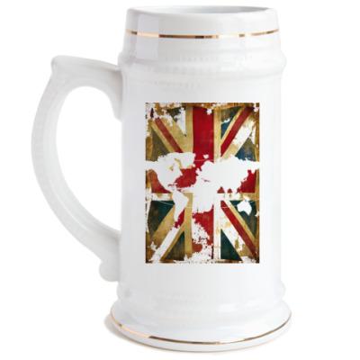 Пивная кружка Британский флаг