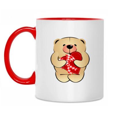Кружка Bear with heart'
