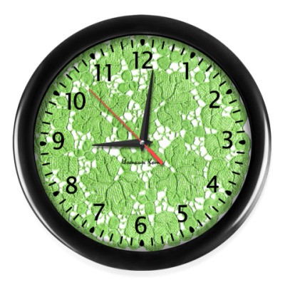 Настенные часы Старое кружево