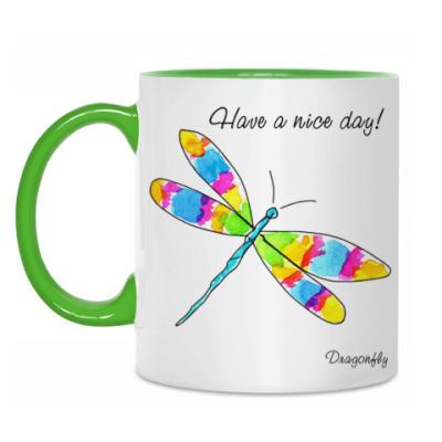 Кружка Dragonfly
