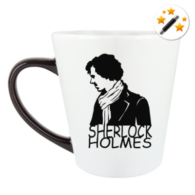 Кружка-хамелеон Шерлок Холмс