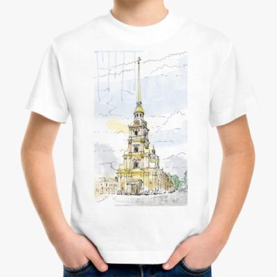 Детская футболка Петропавловская крепость