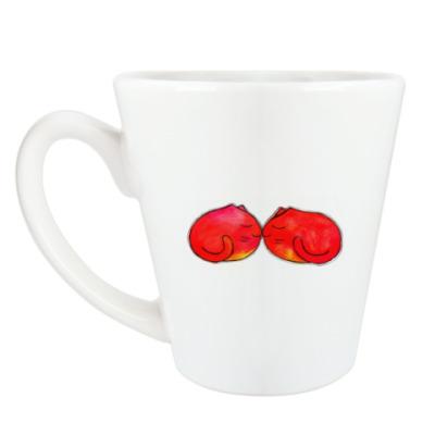 Чашка Латте Kisscat