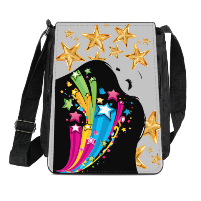 Сумка-планшет Pop-Art Girl