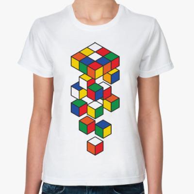 Классическая футболка Кубик