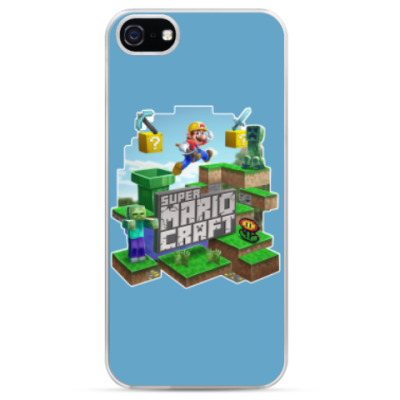 Чехол для iPhone Super Mario Craft