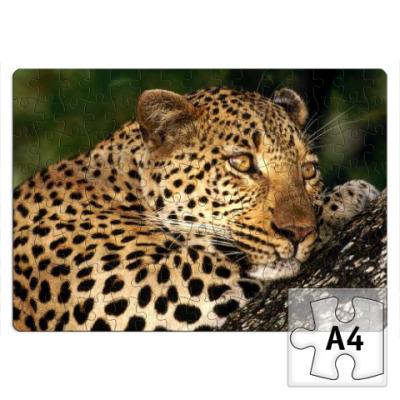Пазл Мечтательный леопард