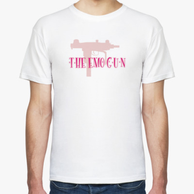 Футболка  'The emo gun'