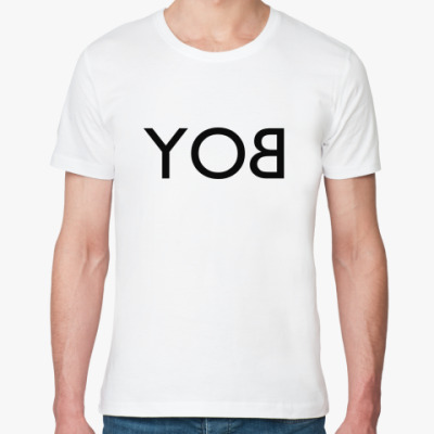 Футболка из органик-хлопка YOB/BOY