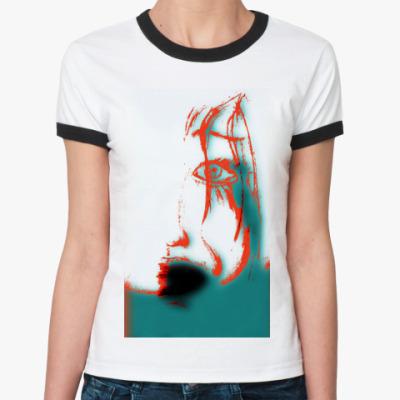 Женская футболка Ringer-T Face3D