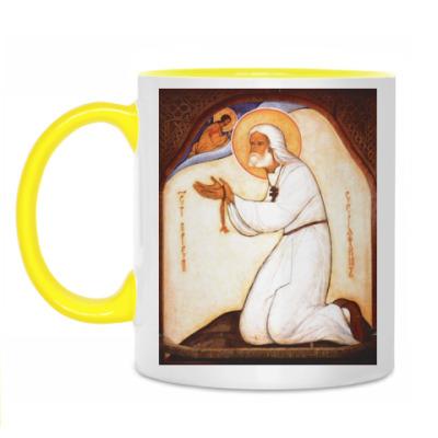 Кружка Святой Серафим