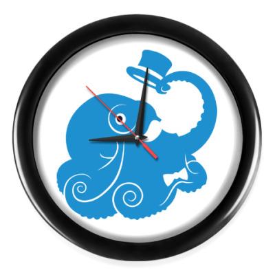 Настенные часы Сэр осьминог