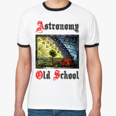 Футболка Ringer-T Astronomy - Old School