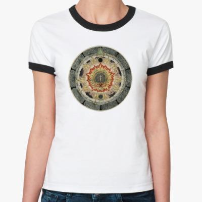 Женская футболка Ringer-T Космическая Роза