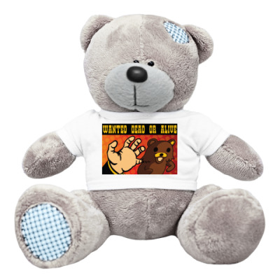 Плюшевый мишка Тедди Pedobear: Wanted Dead or Alive