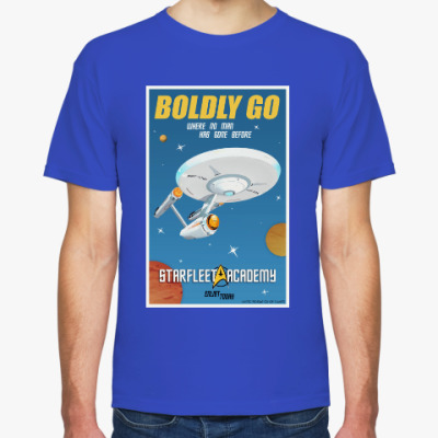 Футболка Star Trek Boldly Go
