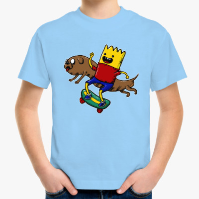 Детская футболка Время приключений