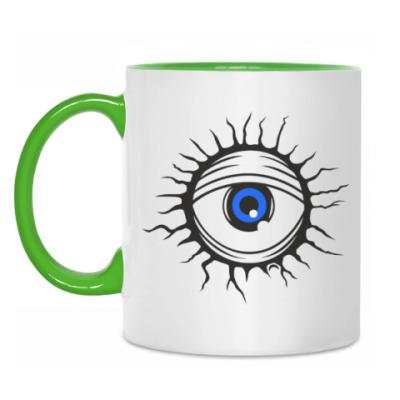 Кружка Демонический глаз.