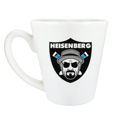 Чашка Латте Heisenberg Raiders