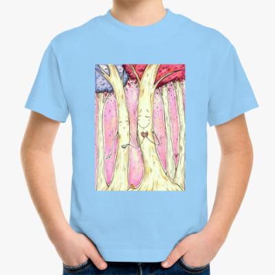 Детская футболка Деревья