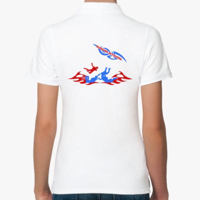 Женская рубашка поло RUSSIANS SKYDIVERS