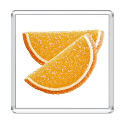 Магнит  Апельсиновые дольки