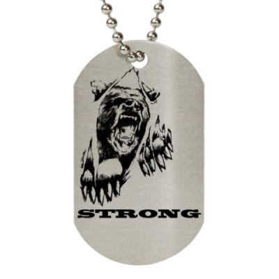 Жетон dog-tag STRONG