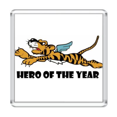 Магнит   Tiger Hero