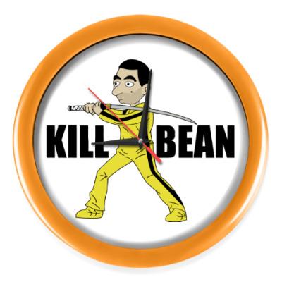 Настенные часы Kill Bean