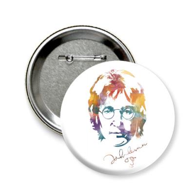 Значок 58мм The Beatles - John Lennon
