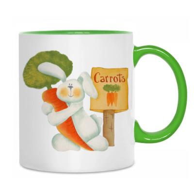 Кружка Carrots - туда!