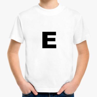 Детская футболка E