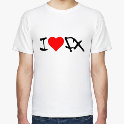 Футболка i love FX
