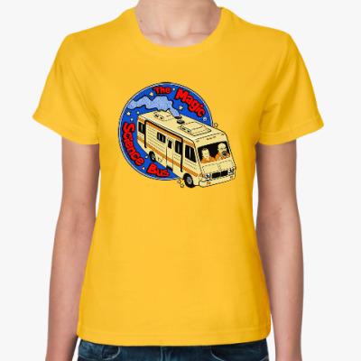 Женская футболка Волшебный автобус