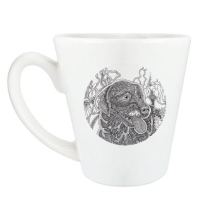 Чашка Латте Лабрадор