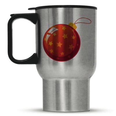 Кружка-термос Елочный шар