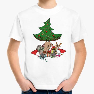 Детская футболка Жадный олень