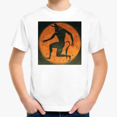 Детская футболка Минотавр