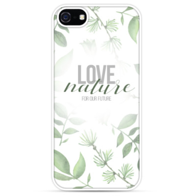 Чехол для iPhone LoveNature